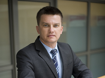 Piotr Gracz, Partner in der Abteilung Business Services & Outsourcing